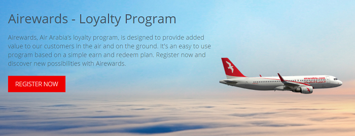 Rewards with flying with Air Arabia