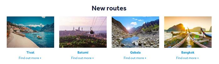 Flydubai new services