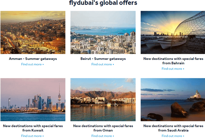 Flydubai offers