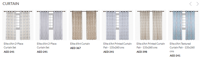 Find stunning curtains for your home