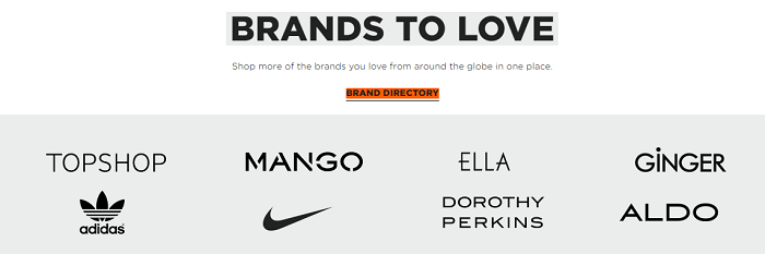 Your favorite brands
