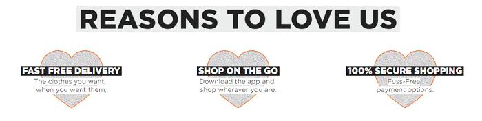Reasons to shop at Namshi