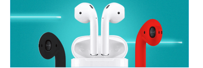 Get a pair of airpods