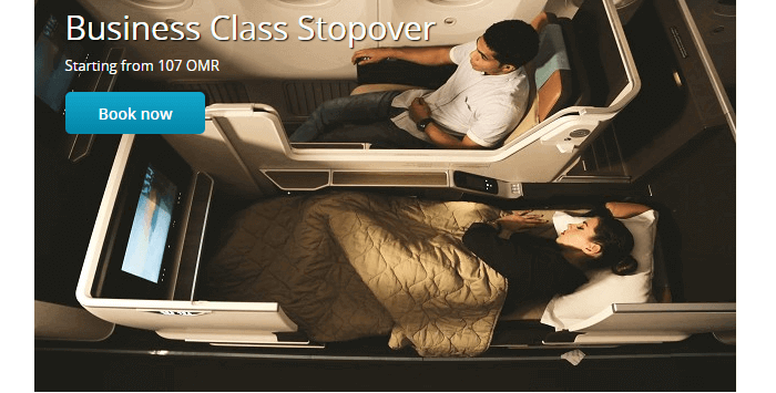 Business travel with Oman Air