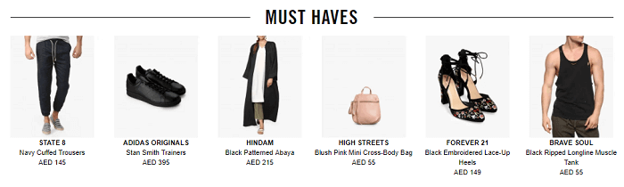 Your must-haves