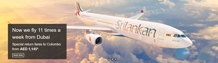 Fly away with SriLankan Airlines