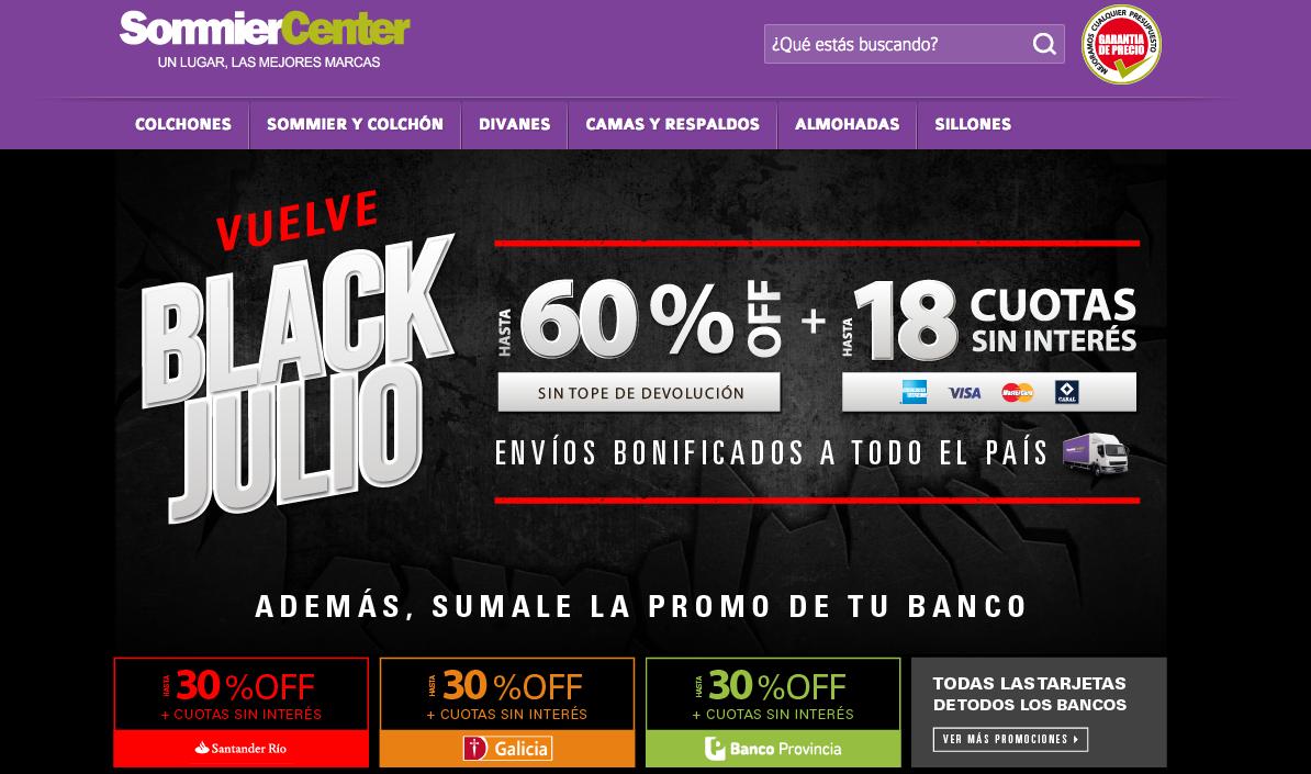 ofertas Sommier Center