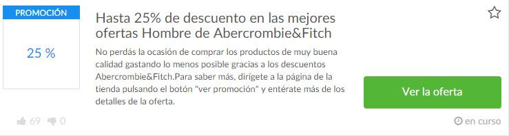 cupones Abercrombie & Fitch