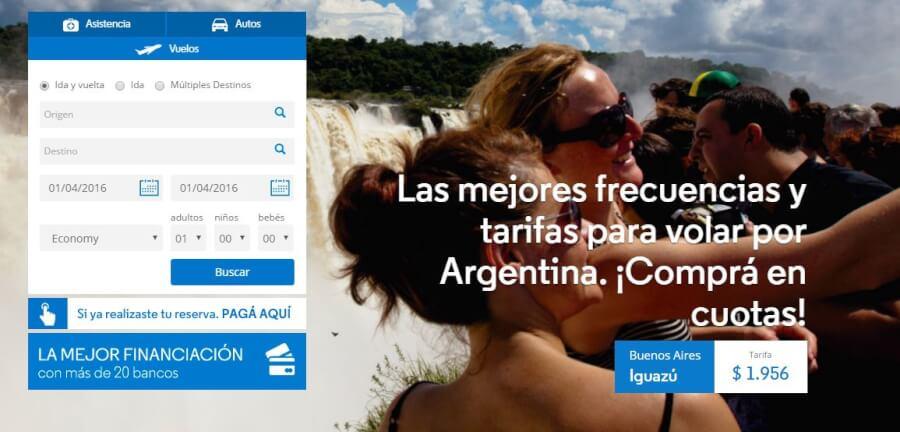 ofertas Aerolíneas Argentinas