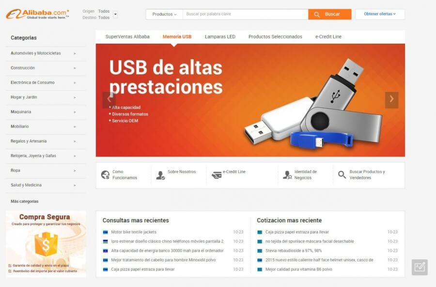 Tienda_online_Alibaba