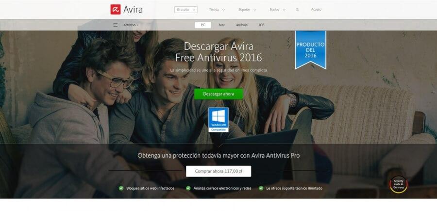 Antivirus Avira Free