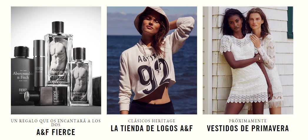 ofertas Abercrombie & Fitch