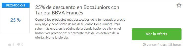 cupones Boca Juniors Shop