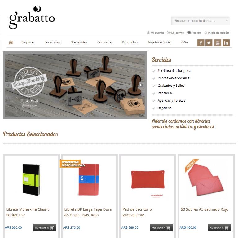 ofertas Grabatto
