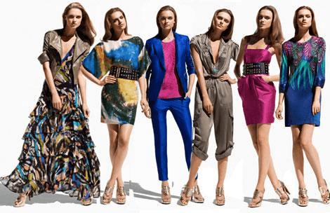 H&M ofrece vestidos para mujeres