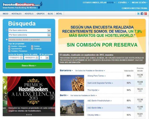 ofertas Hostelbookers.com