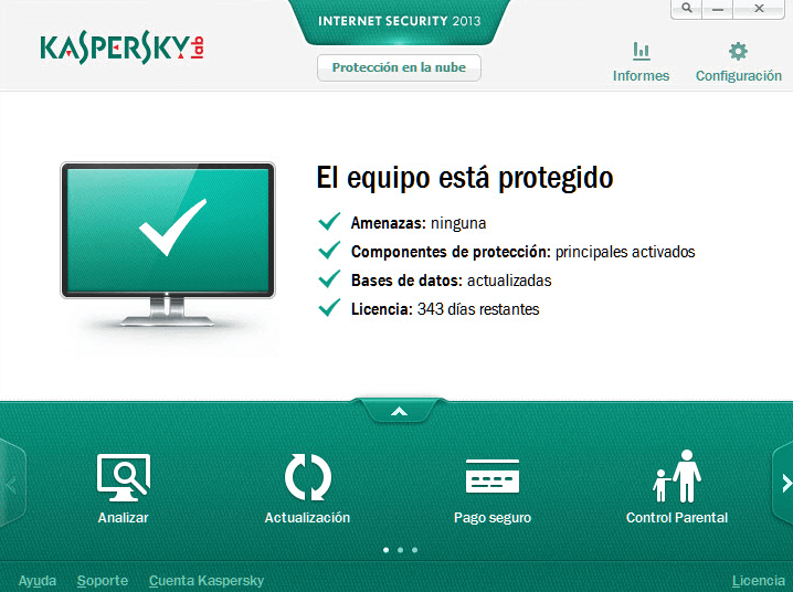 Software Antivirus de Kaspersky