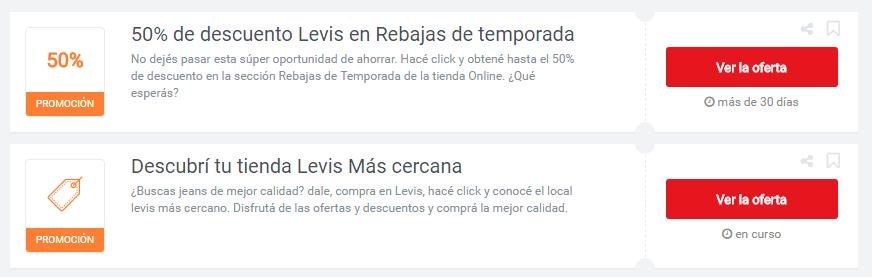 cupones Levis