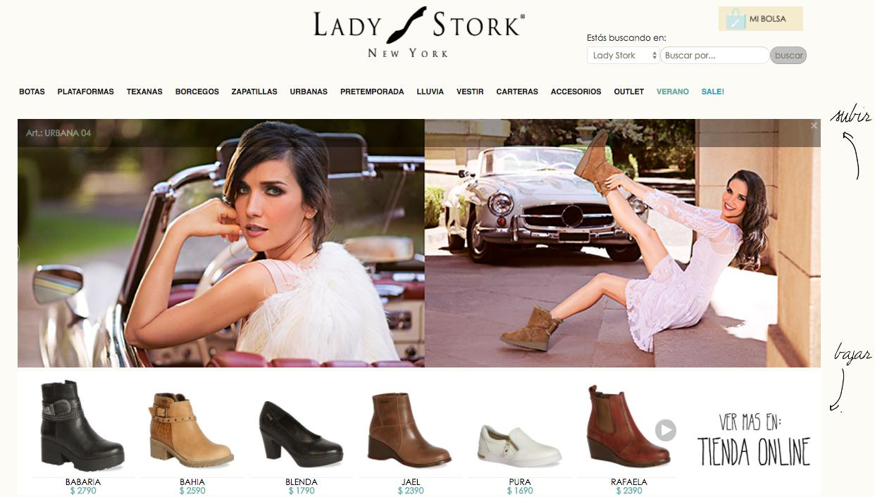 ofertas Lady Stork