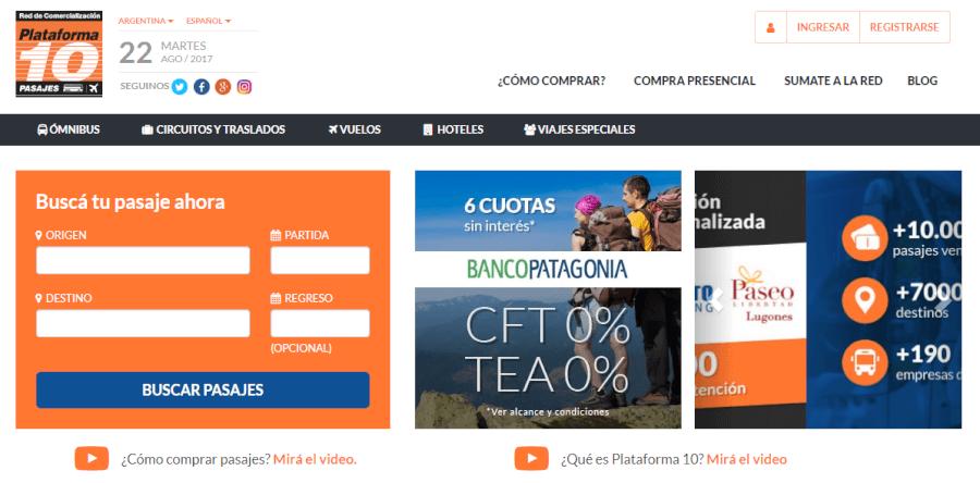 ofertas Plataforma10