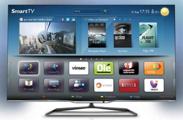 Smart TV de Philips - una de las soluciones innovadoras