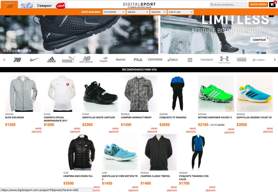 ofertas Sport 78