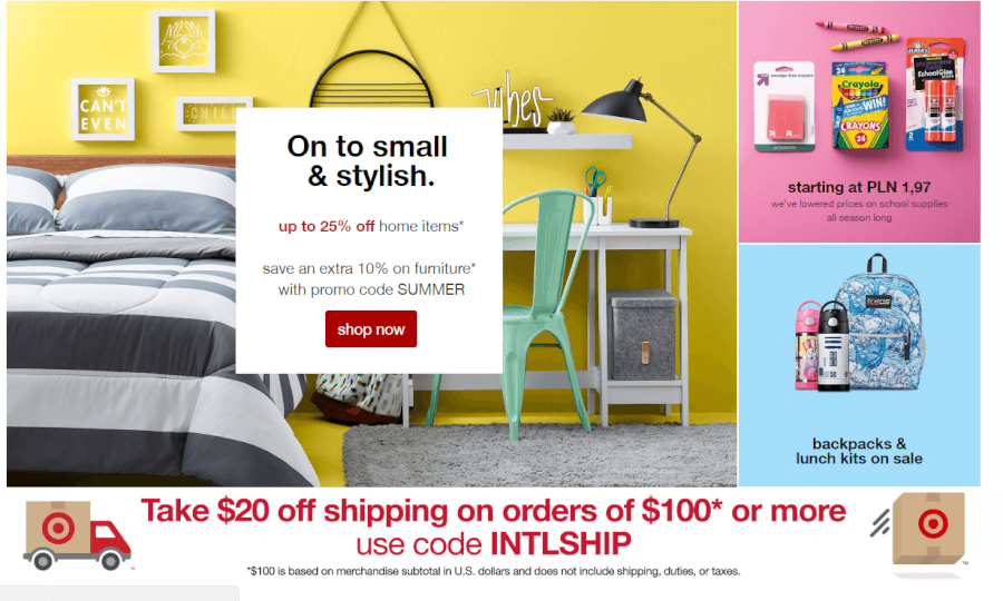 ofertas Target