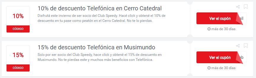 cupones Telefónica