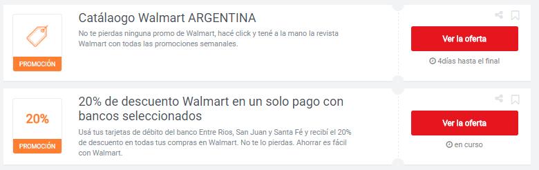 cupones Walmart
