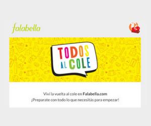 Vuelta al Cole en Falabella