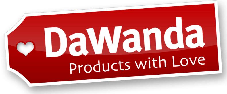 DaWanda, das Logo des Unternehmens