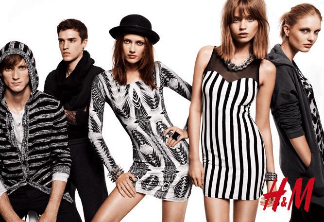 H&M Models - die Herren- als auch die Damenmode