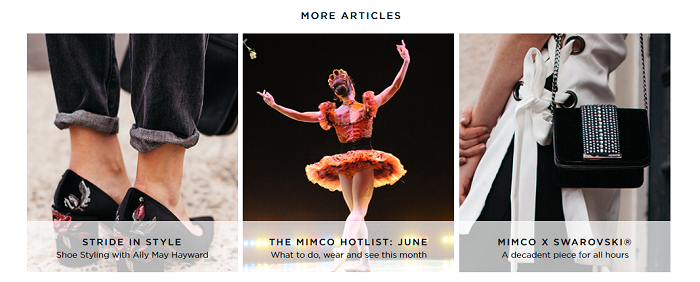 Read the Mimco's blog
