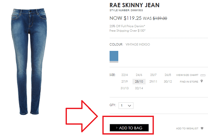 Shop for the latest denim styles at SABA