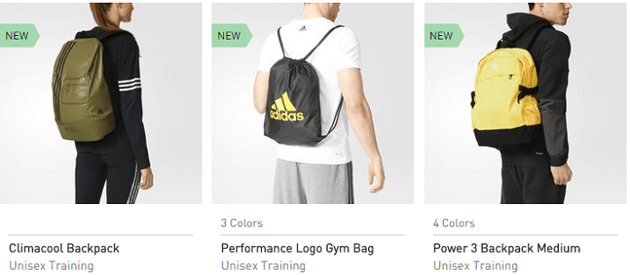 Adidas accessories up for grabs