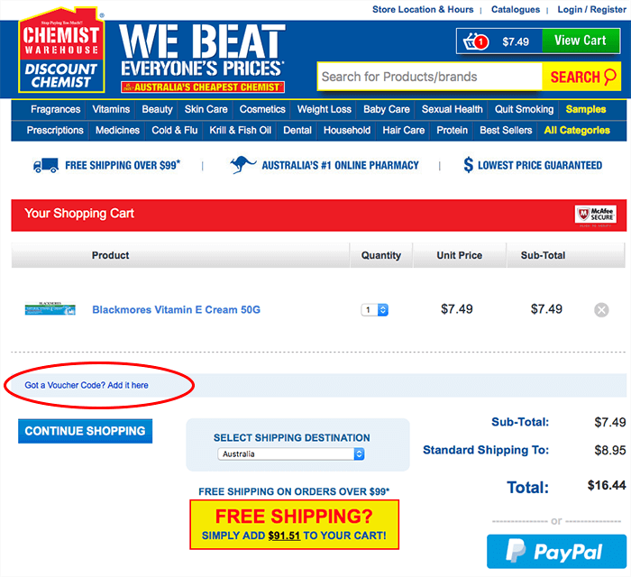Save with a 10% Off Chemist Warehouse coupon code and other free promo code, discount voucher at hingcess-serp.cf There are 45 hingcess-serp.cf coupons available in November