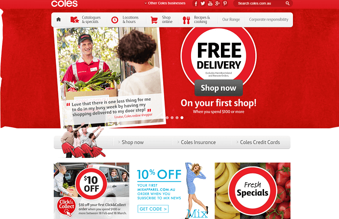 Shopping at Coles with Coles promotion codes