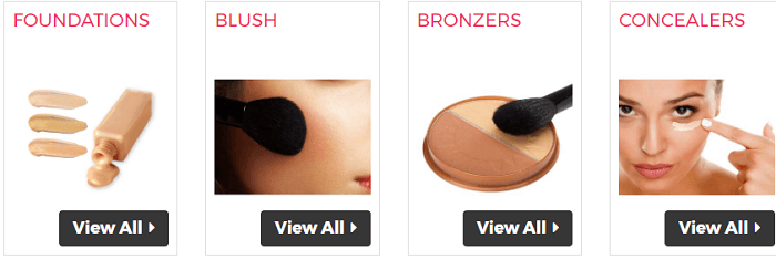 Make up products at Cosmetic Capital