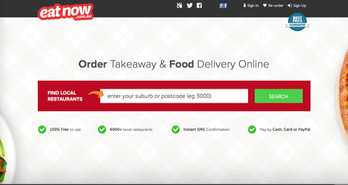 Order the best food!