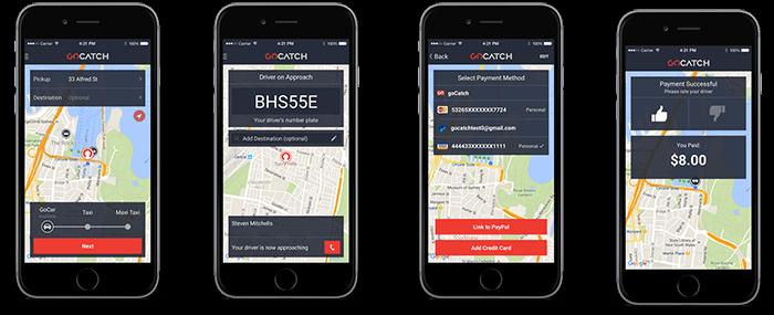 How to use GoCatch app