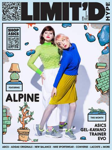 Hype DC's Limit'd Magazine cover