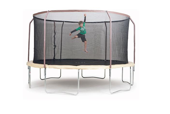 Our 7ft Hoppy Trampoline comes with a brand new design to provide maximum stability for your trampoline on even and uneven terrain. Our 7ft Hoppy Trampoline is Springless Model that features heavy-duty elastic straps instead of springs, making the trampoline safer without sacrificing bounce.
