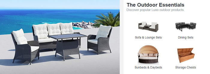 Luxo Living Discount Codes | 50% | January 2020 on Luxo Living Outdoor id=18947