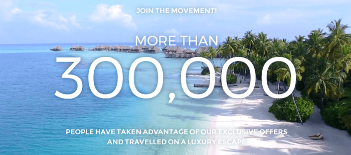 Membership at Luxury Escapes