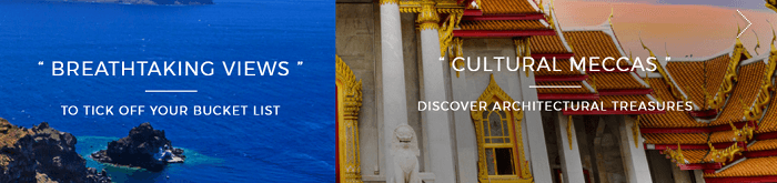 Offers at Luxury Escapes