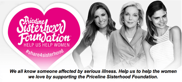 Priceline Sisterhood Charity