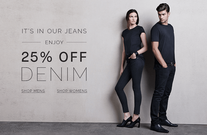 Shop Denim at SABA with up to 25% off discounts