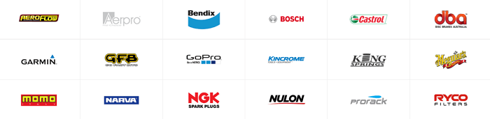 Best known brands at Spares Box