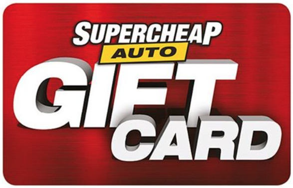 Supercheap Auto GiftCard