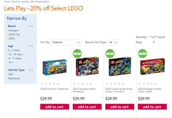 save money on toys at Toys R Us